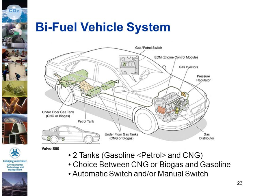 Bi-Fuel Vehicle System