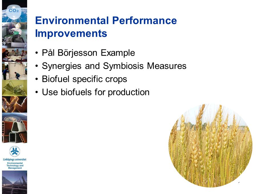Environmental Performance Improvements