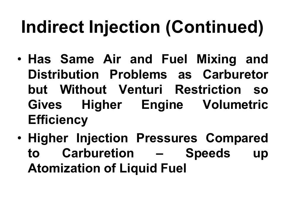 Indirect Injection (Continued)