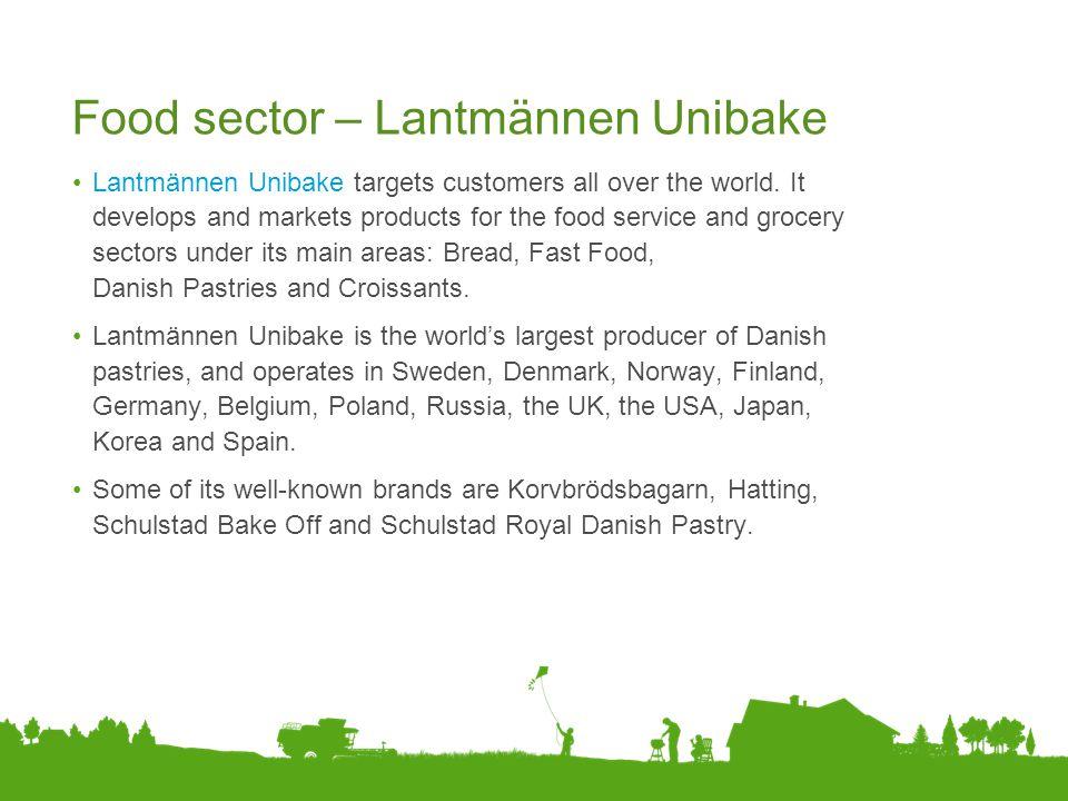 Food sector – Lantmännen Unibake