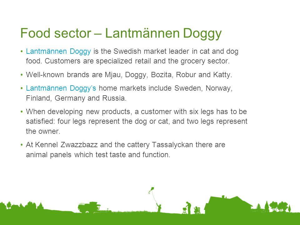 Food sector – Lantmännen Doggy
