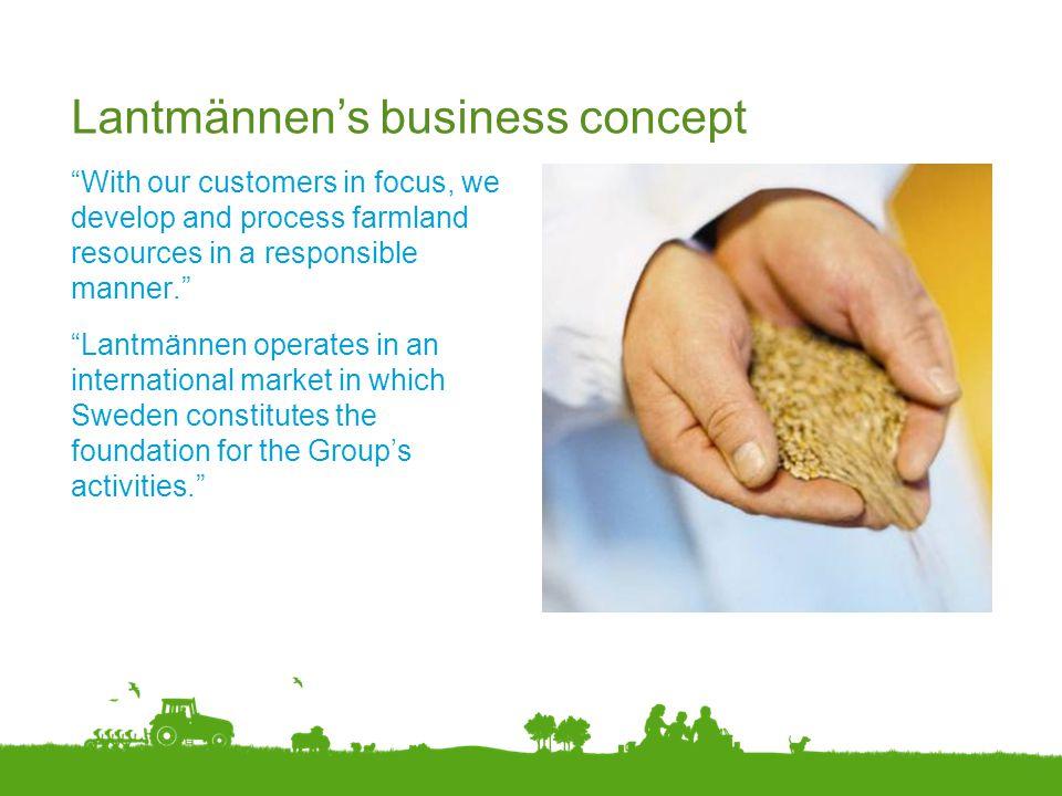 Lantmännen's business concept