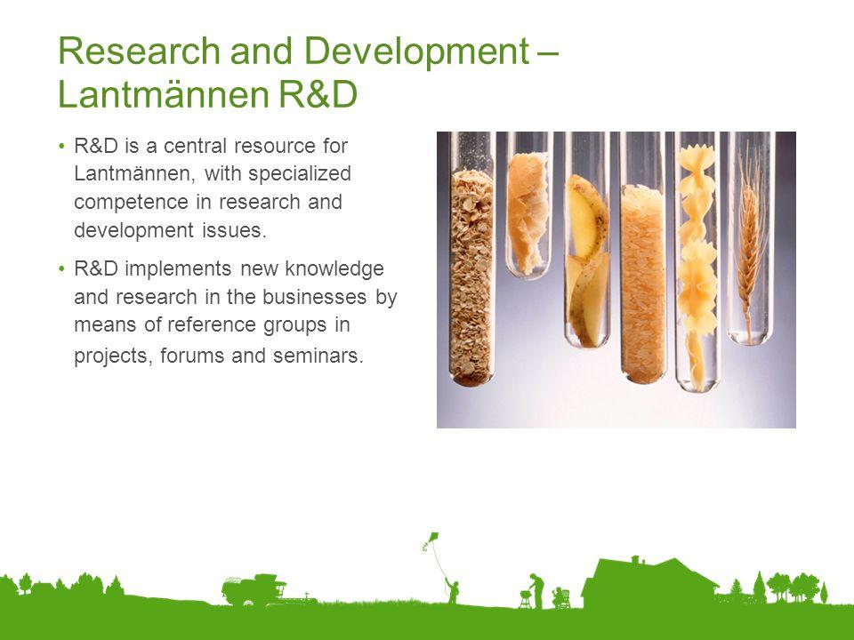 Research and Development – Lantmännen R&D