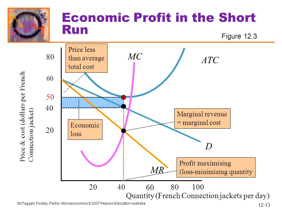 Economic Profit in the Short Run