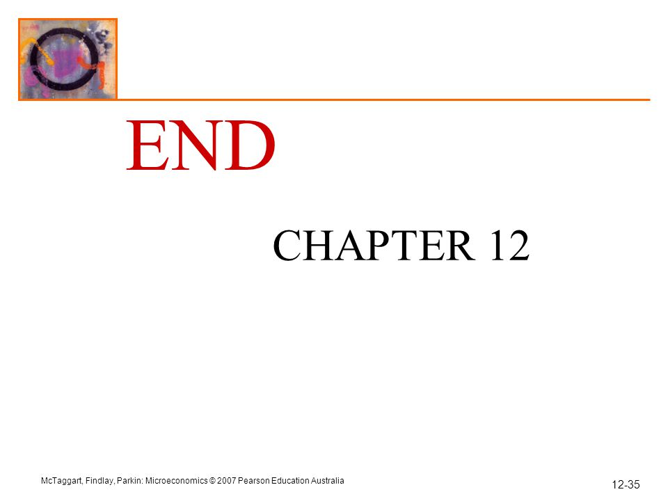 END CHAPTER 12