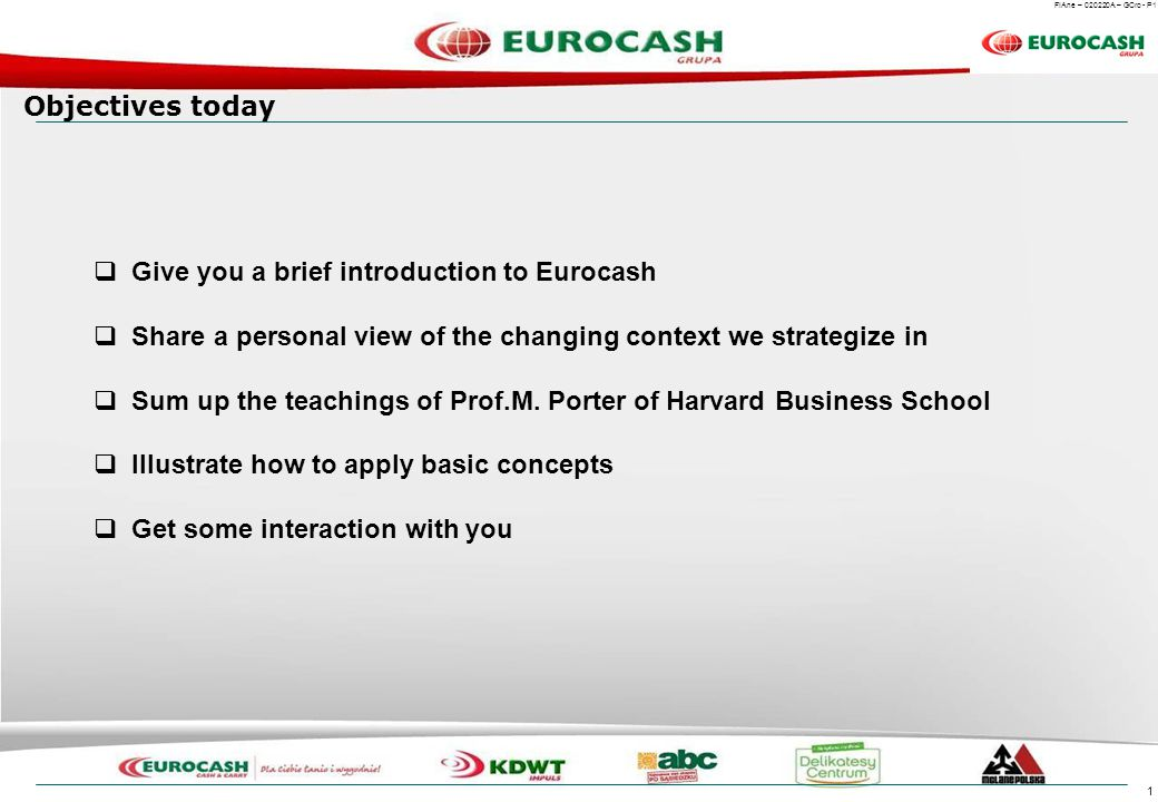 Eurocash – Market leader consolidating a fragmented sector
