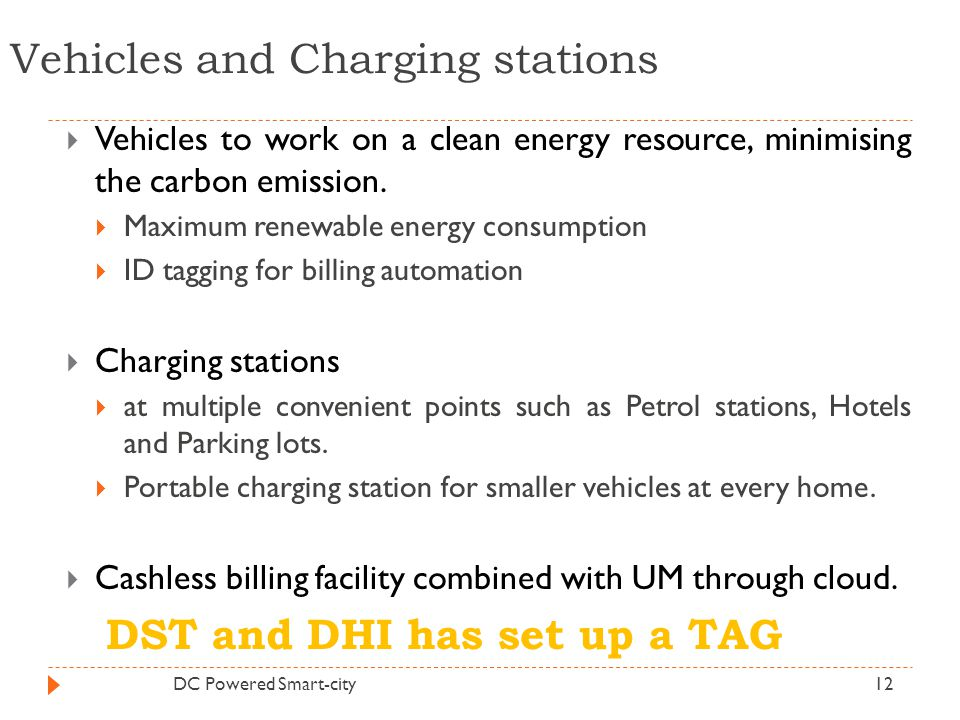 Vehicles and Charging stations