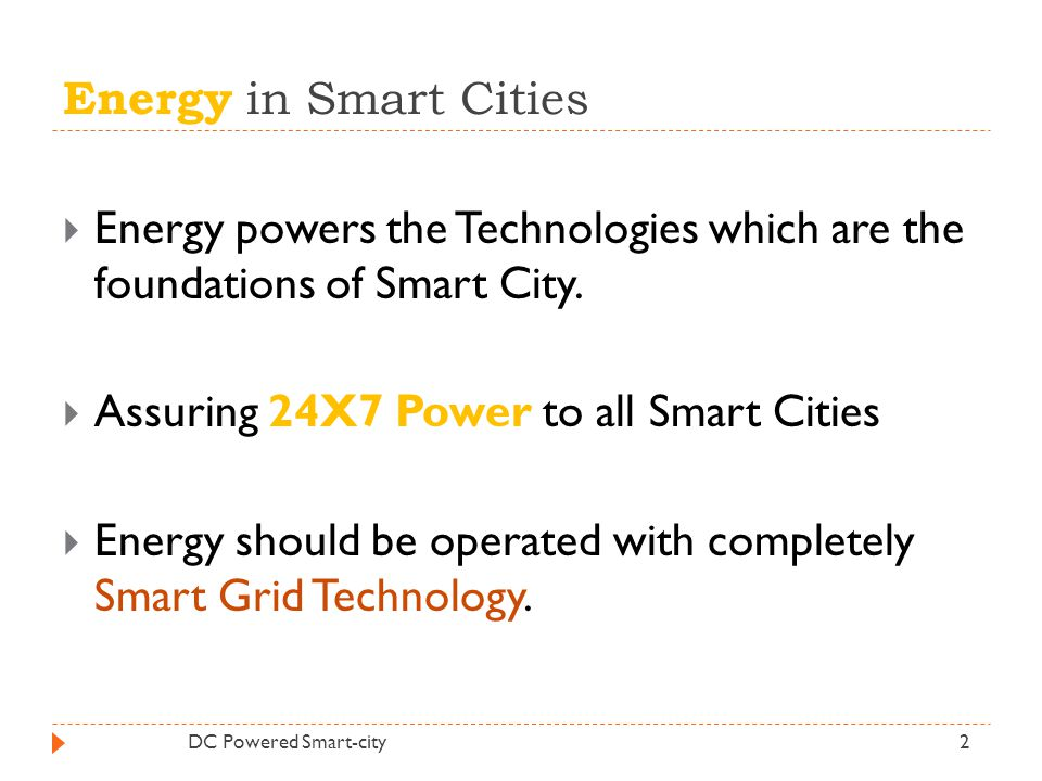 Assuring 24X7 Power to all Smart Cities