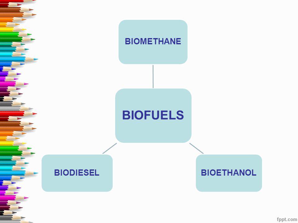 BIOFUELS BIOMETHANE BIOETHANOL BIODIESEL