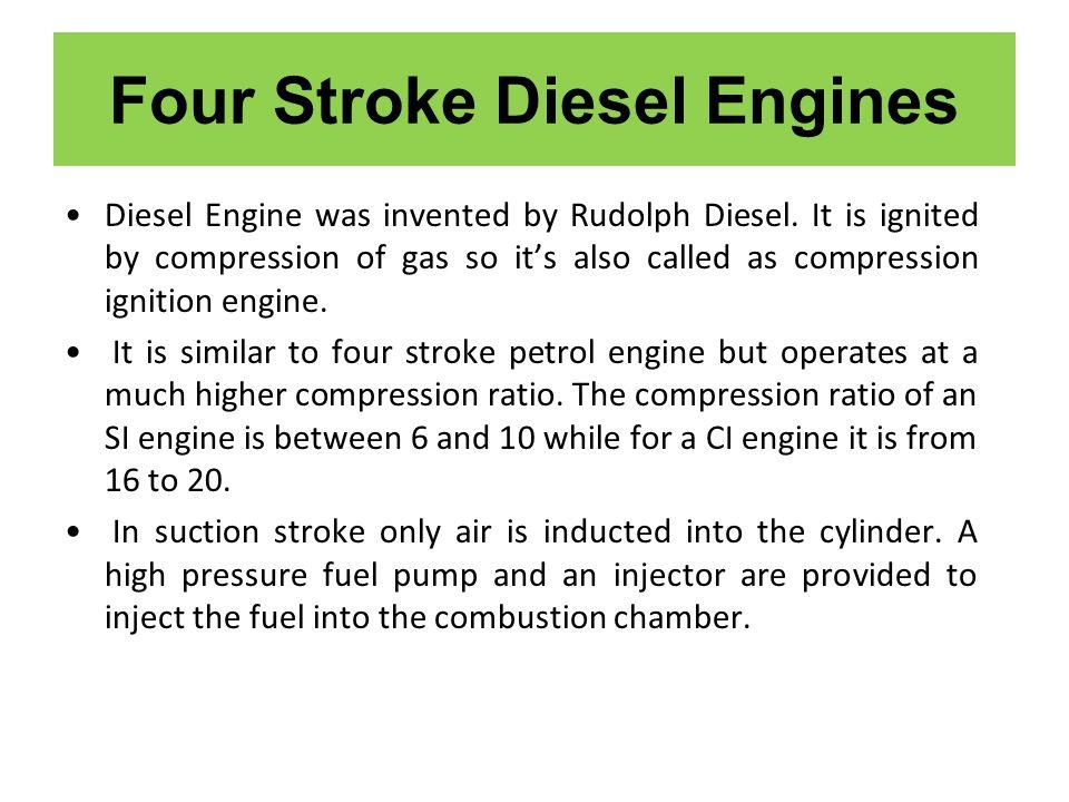 Four Stroke Diesel Engines