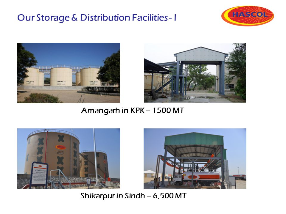 Our Storage & Distribution Facilities - I