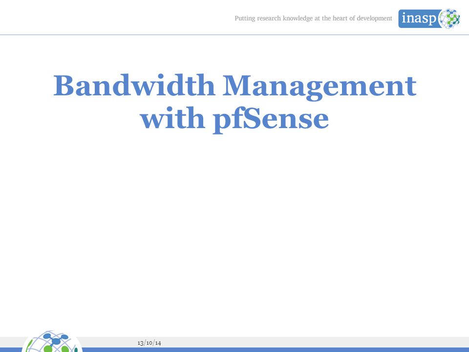 Bandwidth Management with pfSense