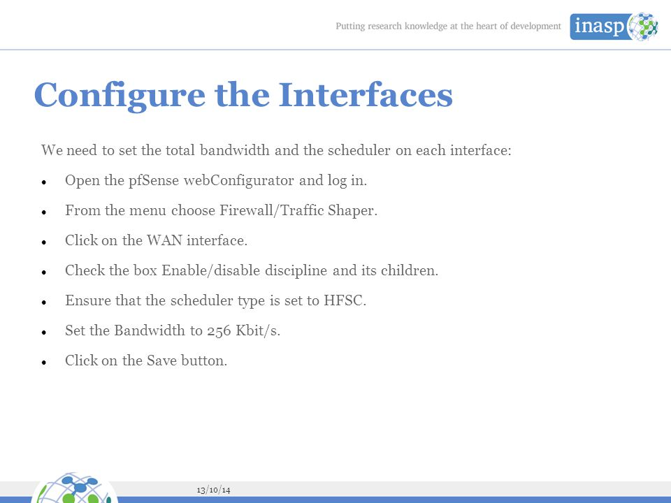 Configure the Interfaces