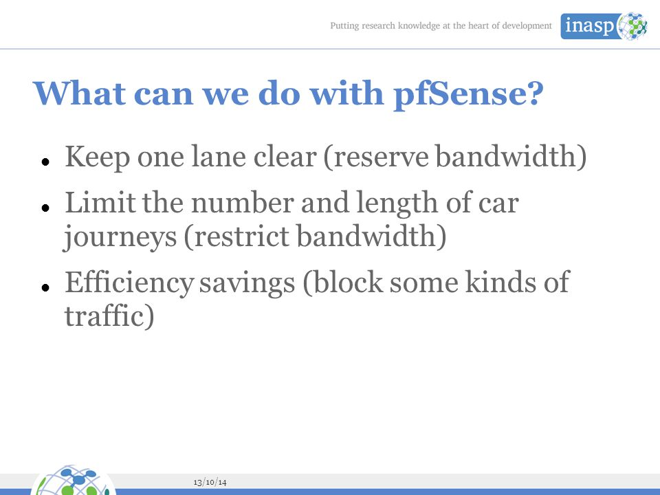 What can we do with pfSense