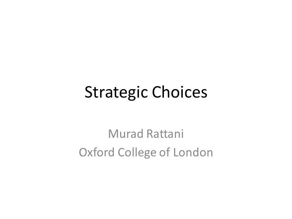 Murad Rattani Oxford College of London