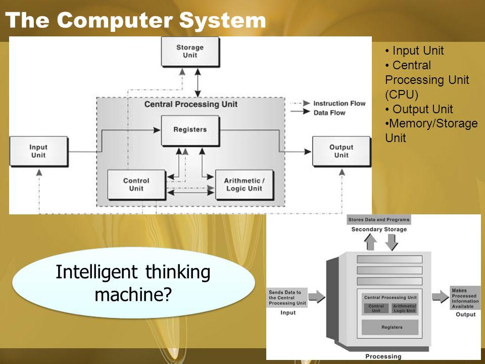 Intelligent thinking machine