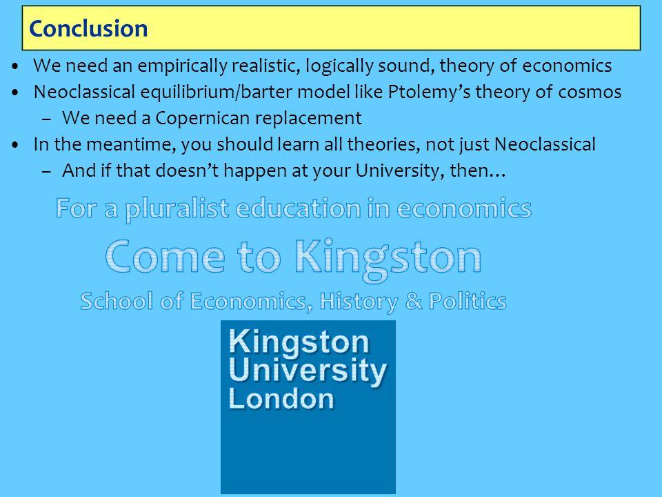 Come to Kingston School of Economics, History & Politics