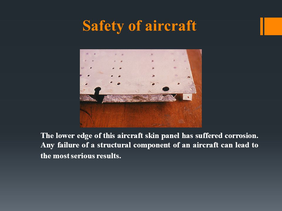 Safety of aircraft