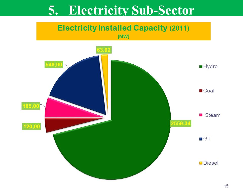 5. Electricity Sub-Sector