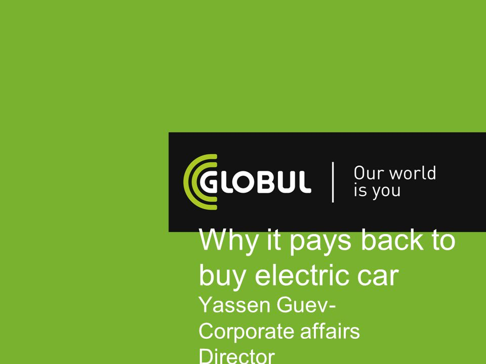 Why it pays back to buy electric car