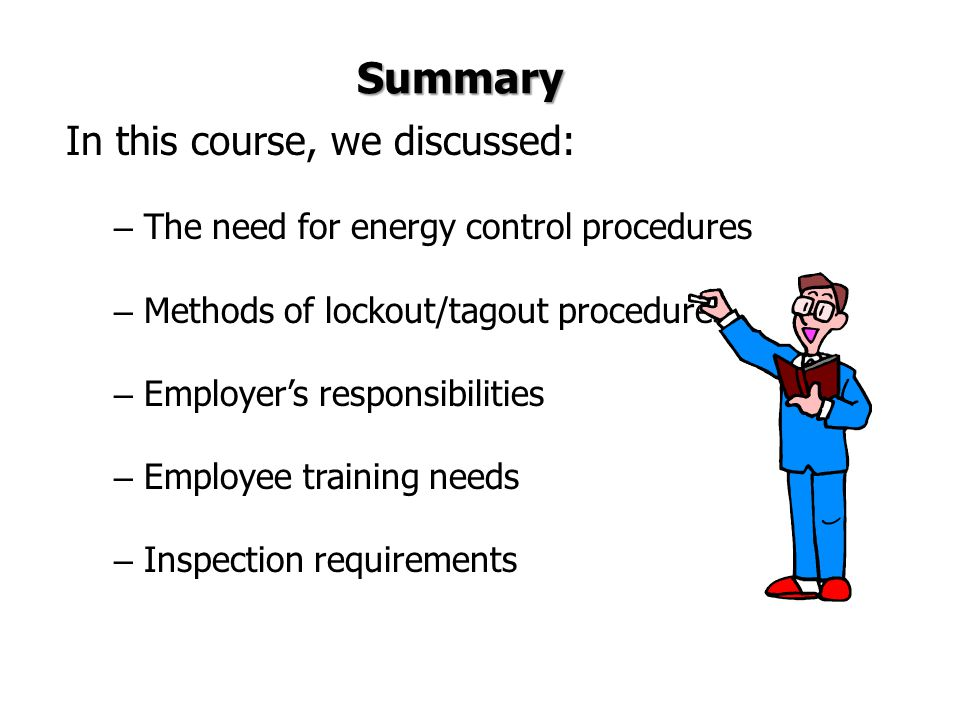 Summary In this course, we discussed: