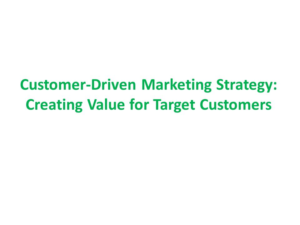 customer driven quality essay This paper examines customer-driven quality management to produce customer satisfaction # 72406 analytical essay a discussion on the importance of quality.