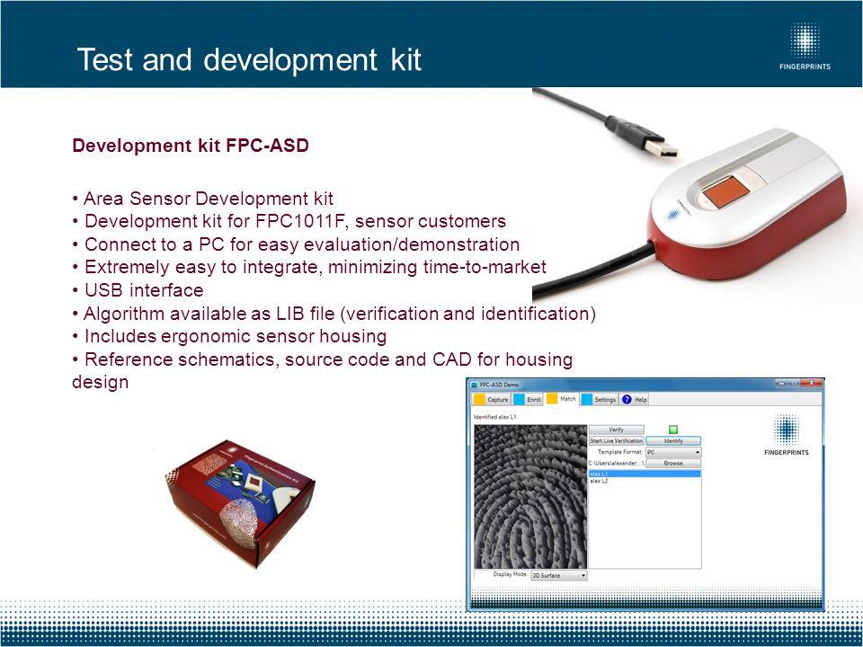 Test and development kit