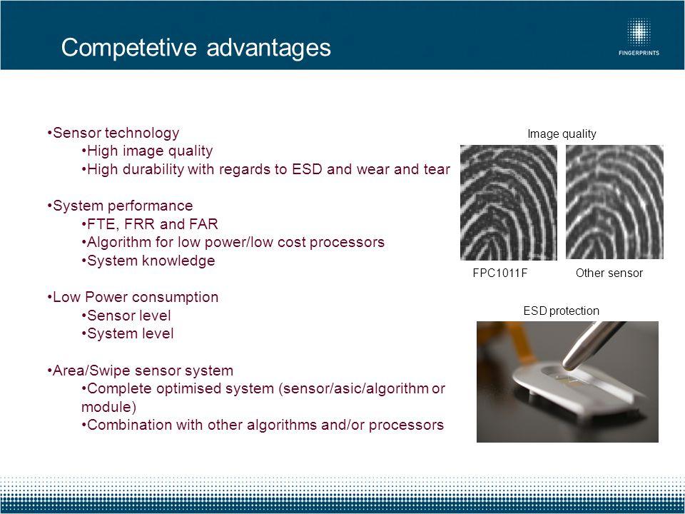 Competetive advantages