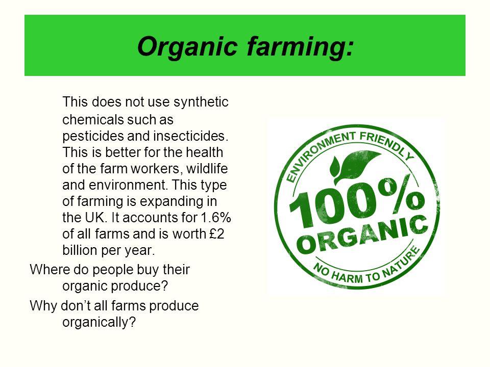 Organic farming: