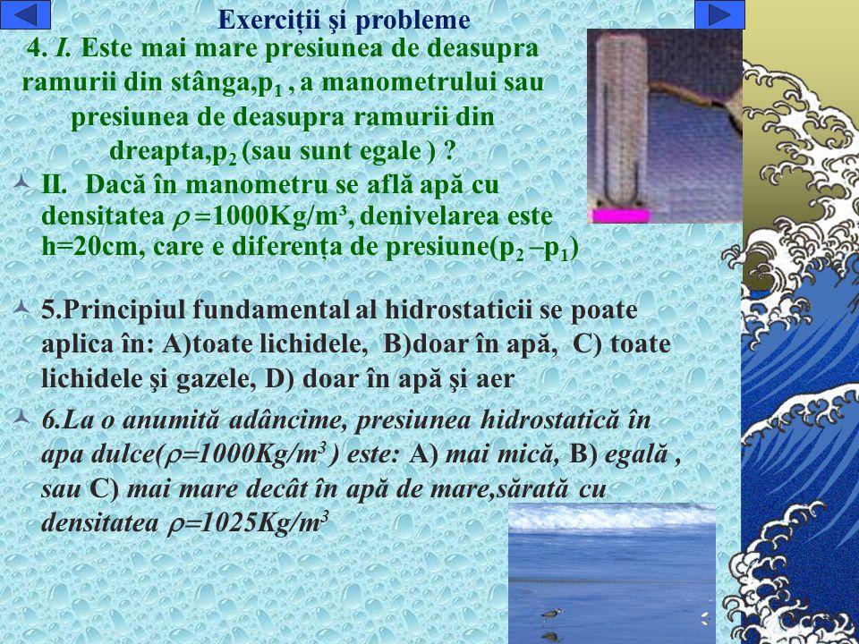 Exerciţii şi probleme