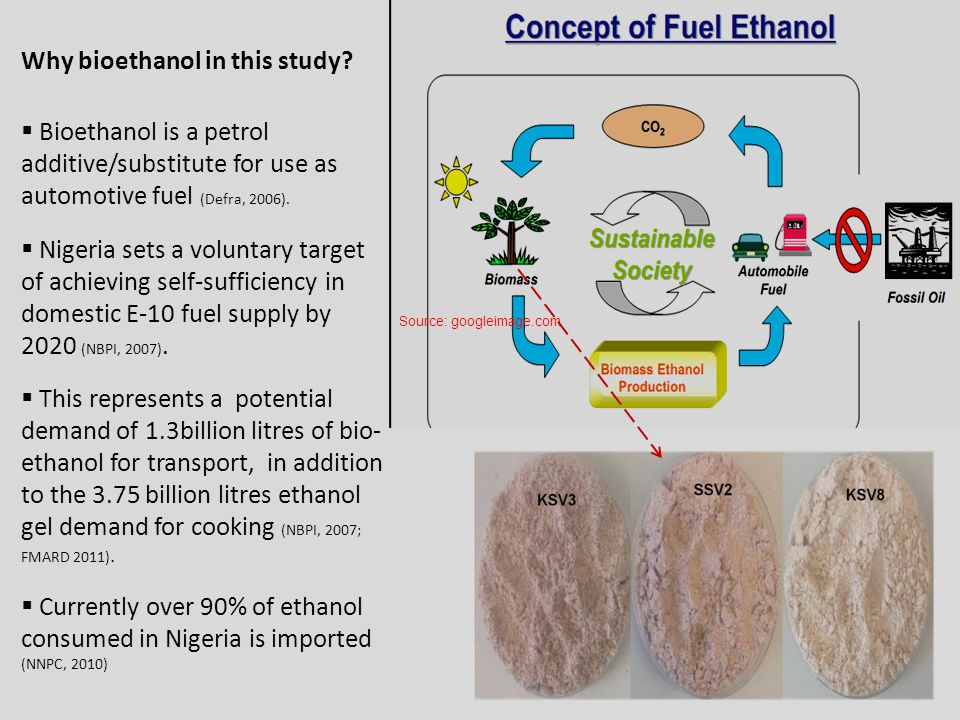 Why bioethanol in this study