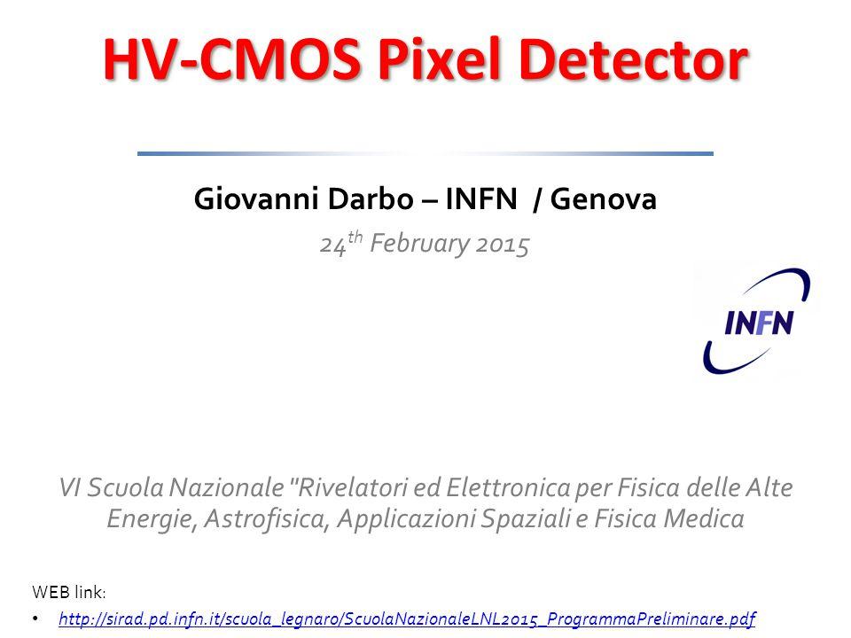 HV-CMOS Pixel Detector