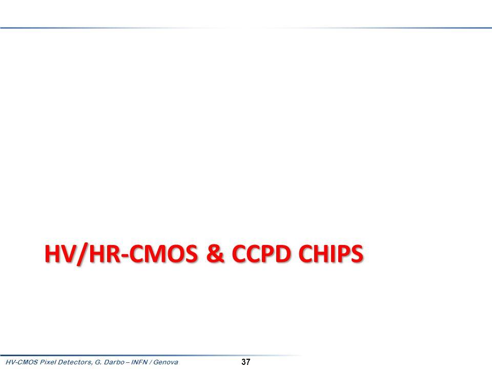 HV/HR-CMOS & CCPD Chips