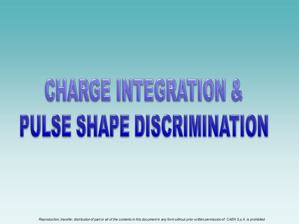 PULSE SHAPE DISCRIMINATION