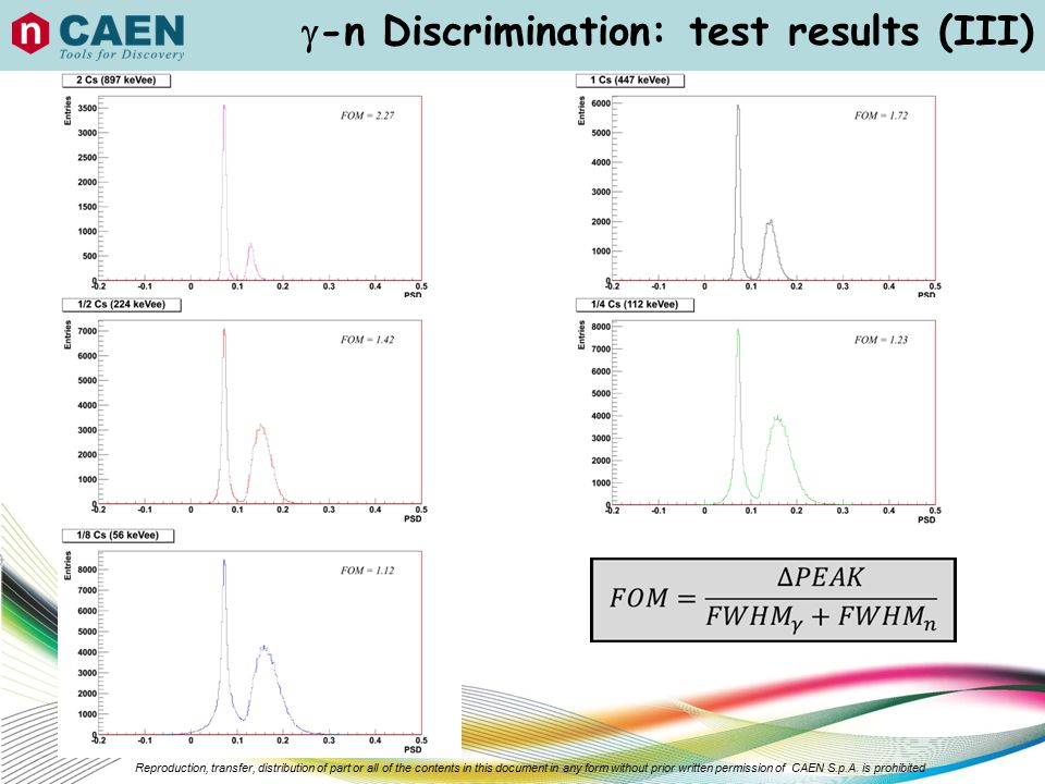 -n Discrimination: test results (III)