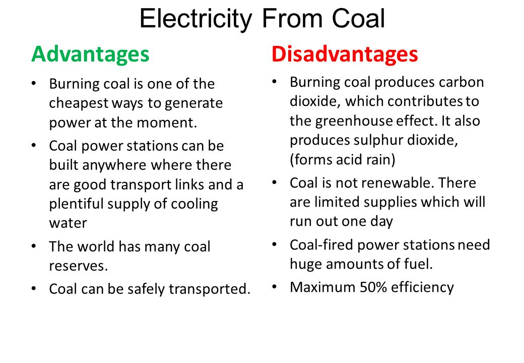 Coal Energy Advantages And Disadvantages Ace Energy