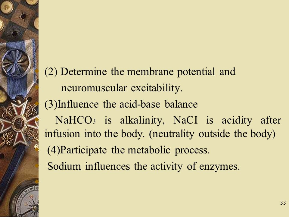 (2) Determine the membrane potential and