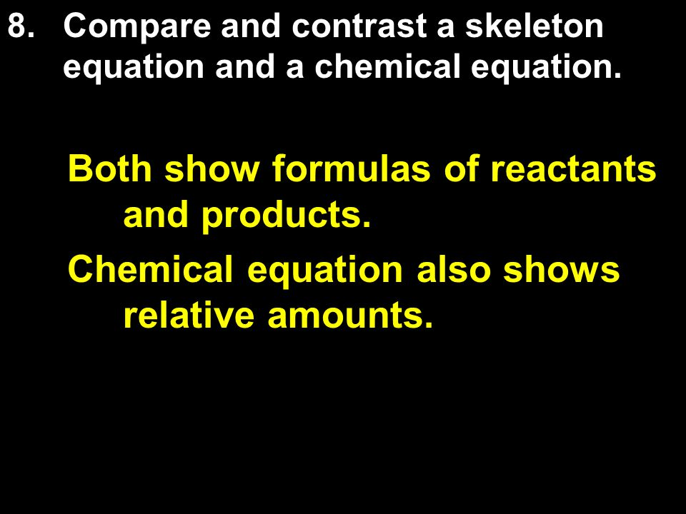 Both show formulas of reactants and products.