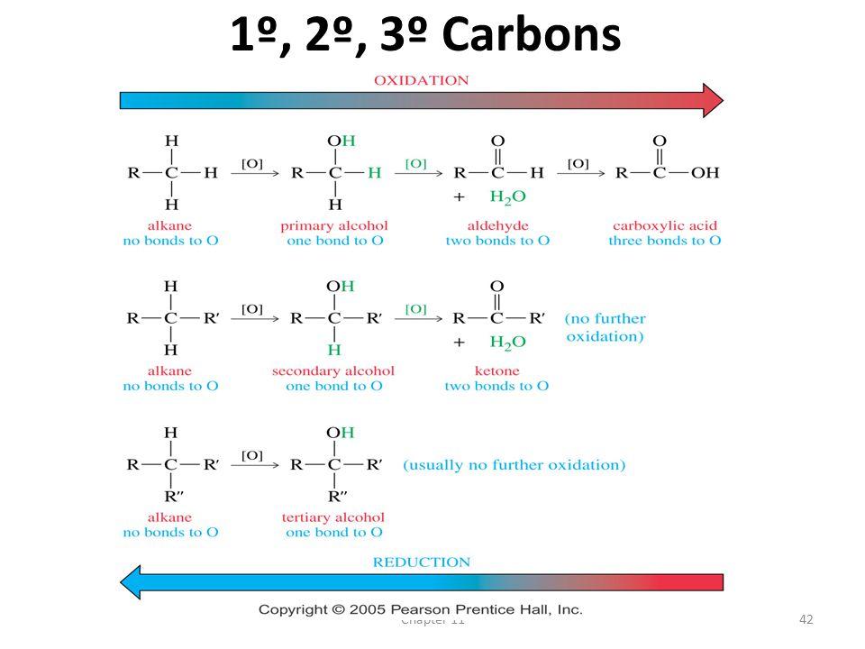 1º, 2º, 3º Carbons Chapter 11