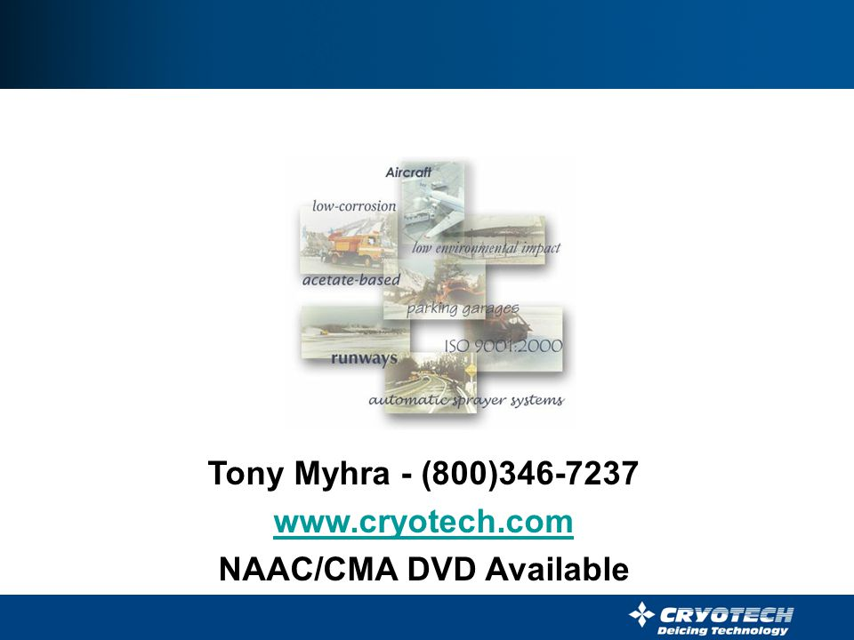 NAAC/CMA DVD Available
