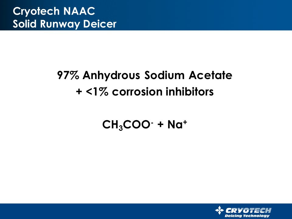 Cryotech NAAC Solid Runway Deicer