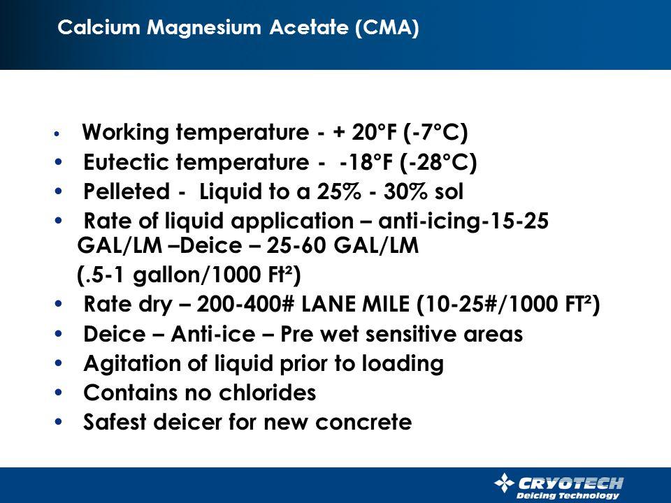 Calcium Magnesium Acetate (CMA)