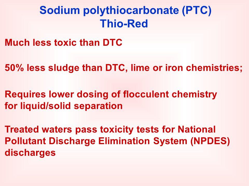 Sodium polythiocarbonate (PTC)