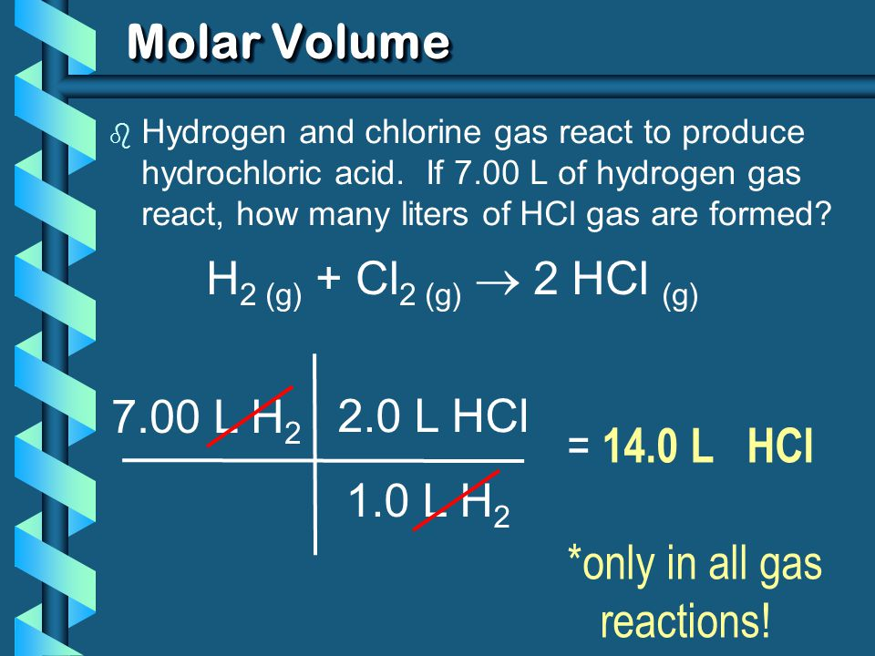*only in all gas reactions!
