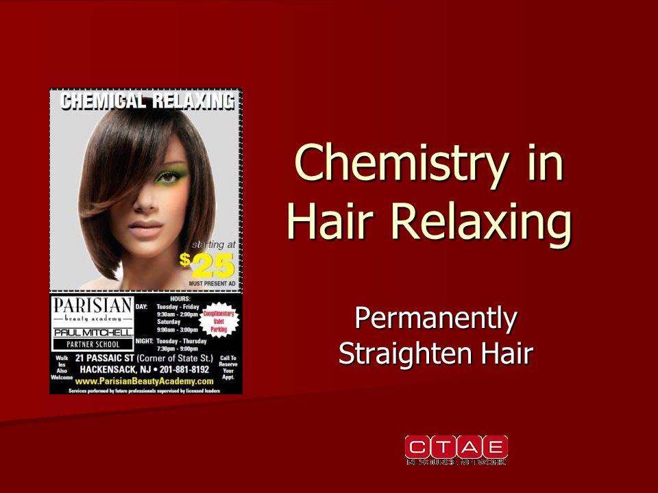 Chemistry in Hair Relaxing