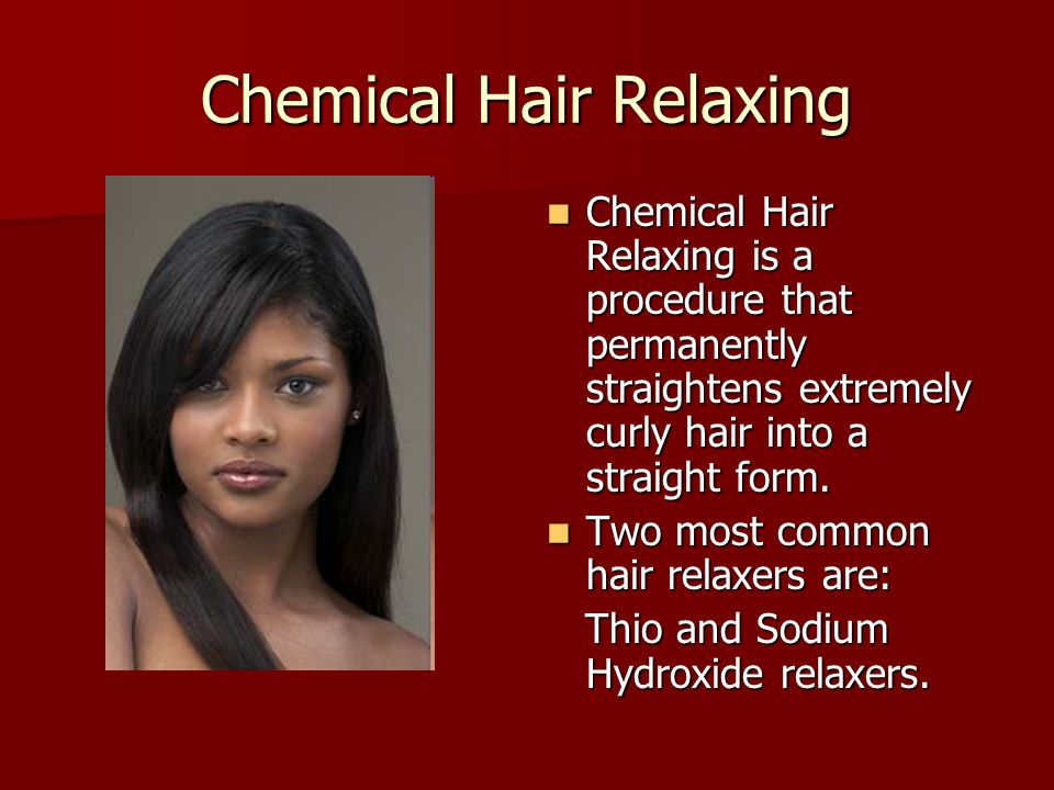 Chemical Hair Relaxing