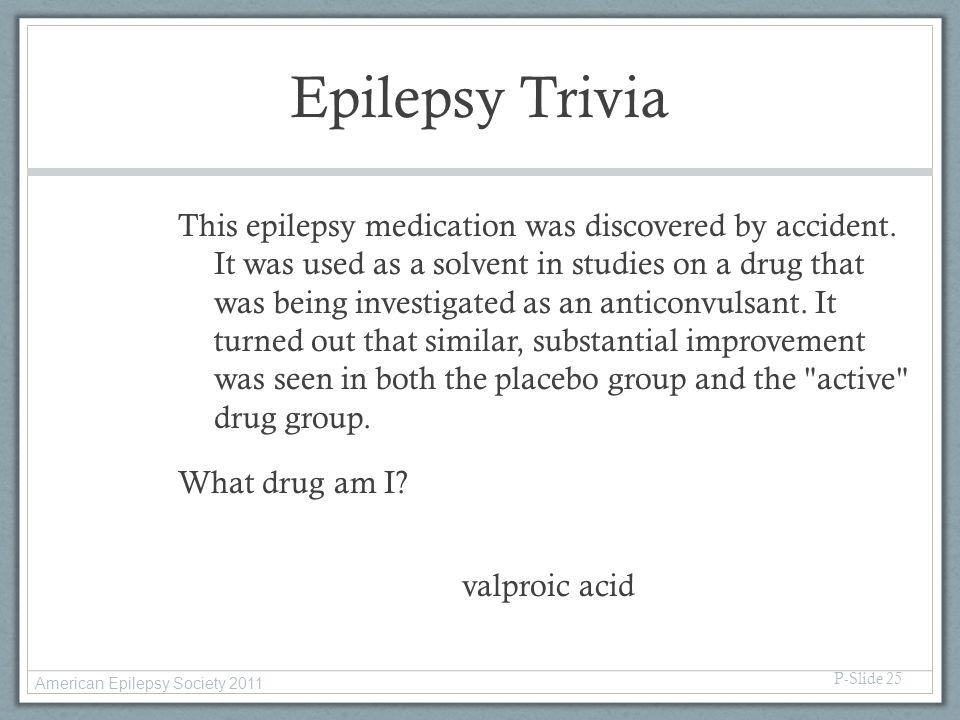Epilepsy Trivia