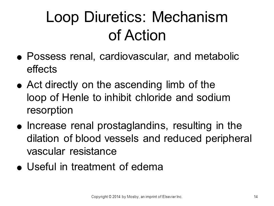 Loop Diuretics: Mechanism of Action