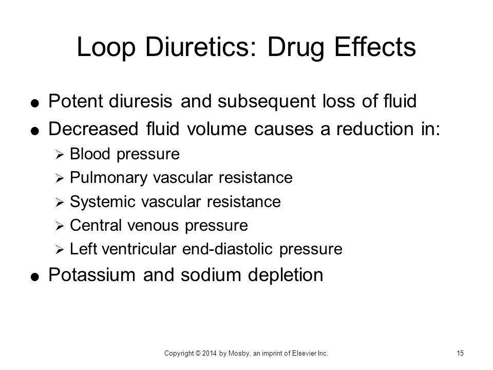 Loop Diuretics: Drug Effects