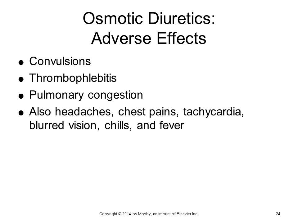 Osmotic Diuretics: Adverse Effects